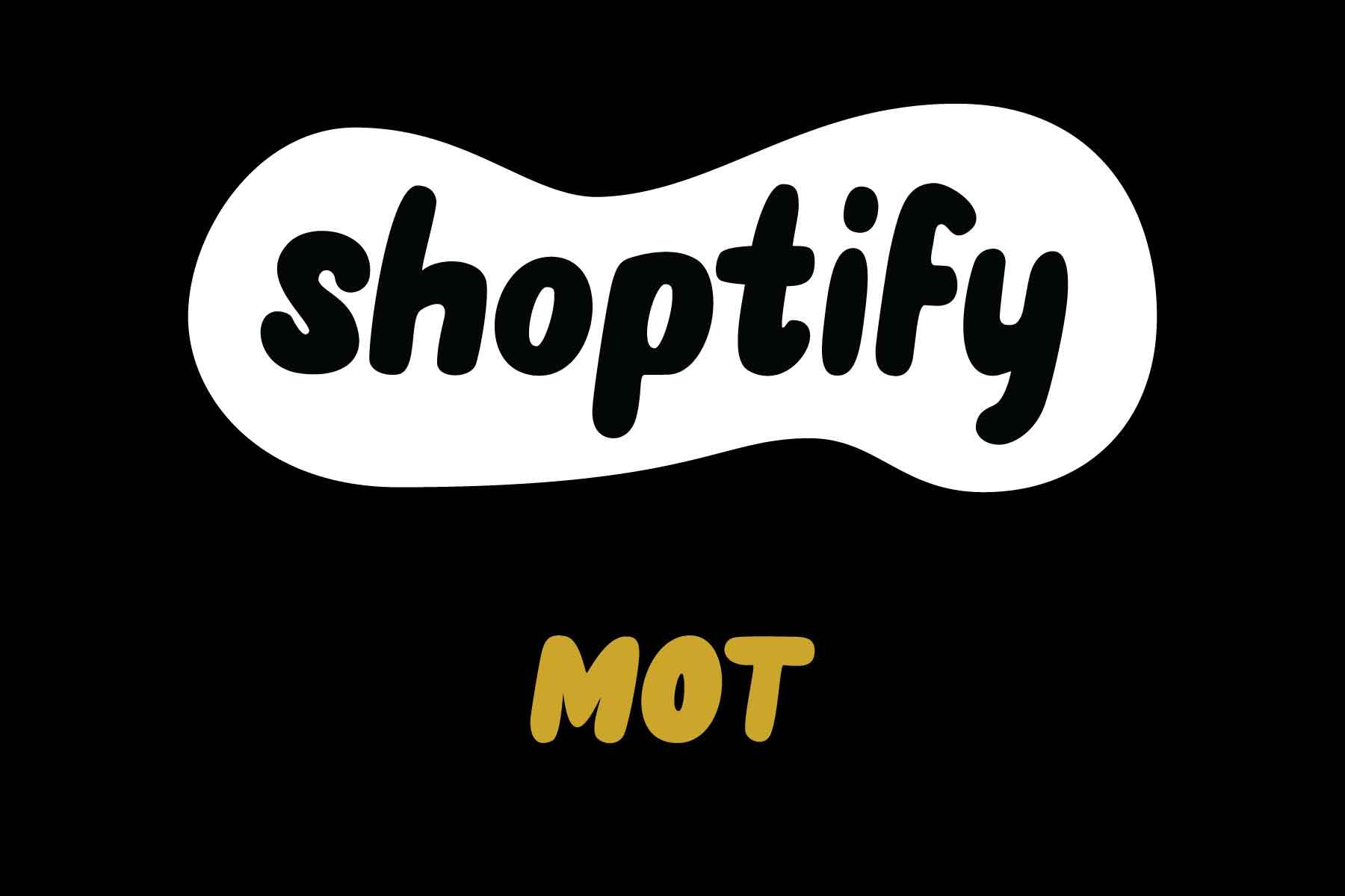 MOT online store service logo.